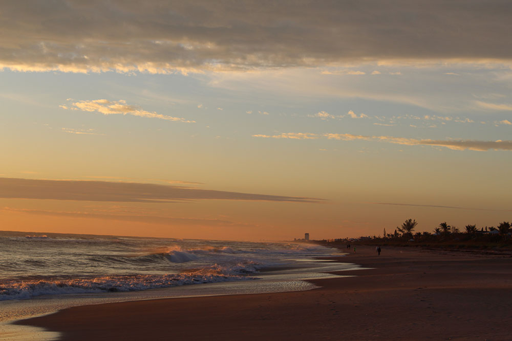 Melbourne Beach at Sunrise