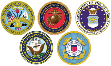 US Military Branch Seals